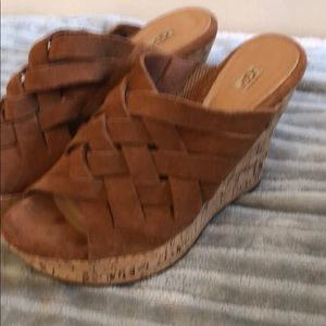 Uggs summer high wedges